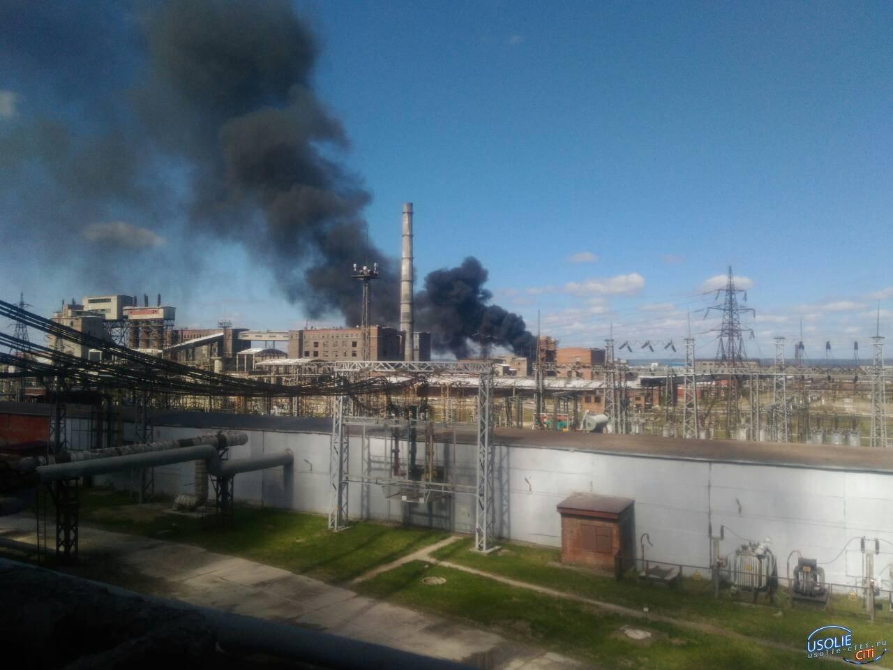 Что за клубы дыма на усольском Химпроме? Есть ли опасность? Почему молчит ЕДДС?