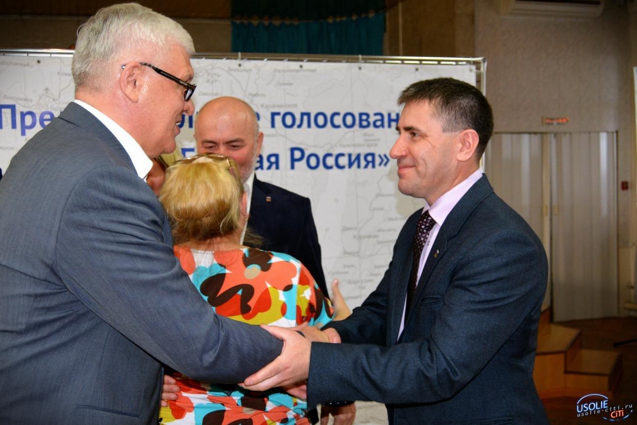 В Усолье на дебатах Единой России под тяжелый