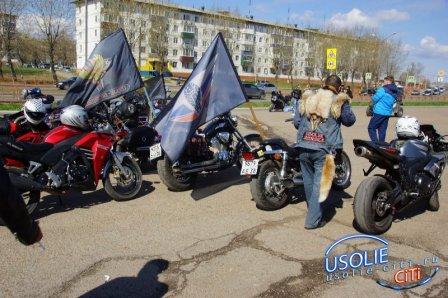 Открытие байкерского сезона  в Усолье. Фотоотчет (часть 1)