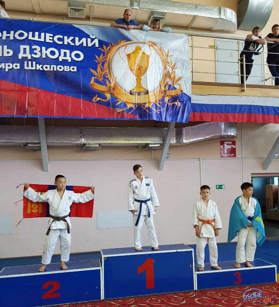Усольчанин Дмитрий Мурашев вернулся с медалью с международного турнира по дзюдо