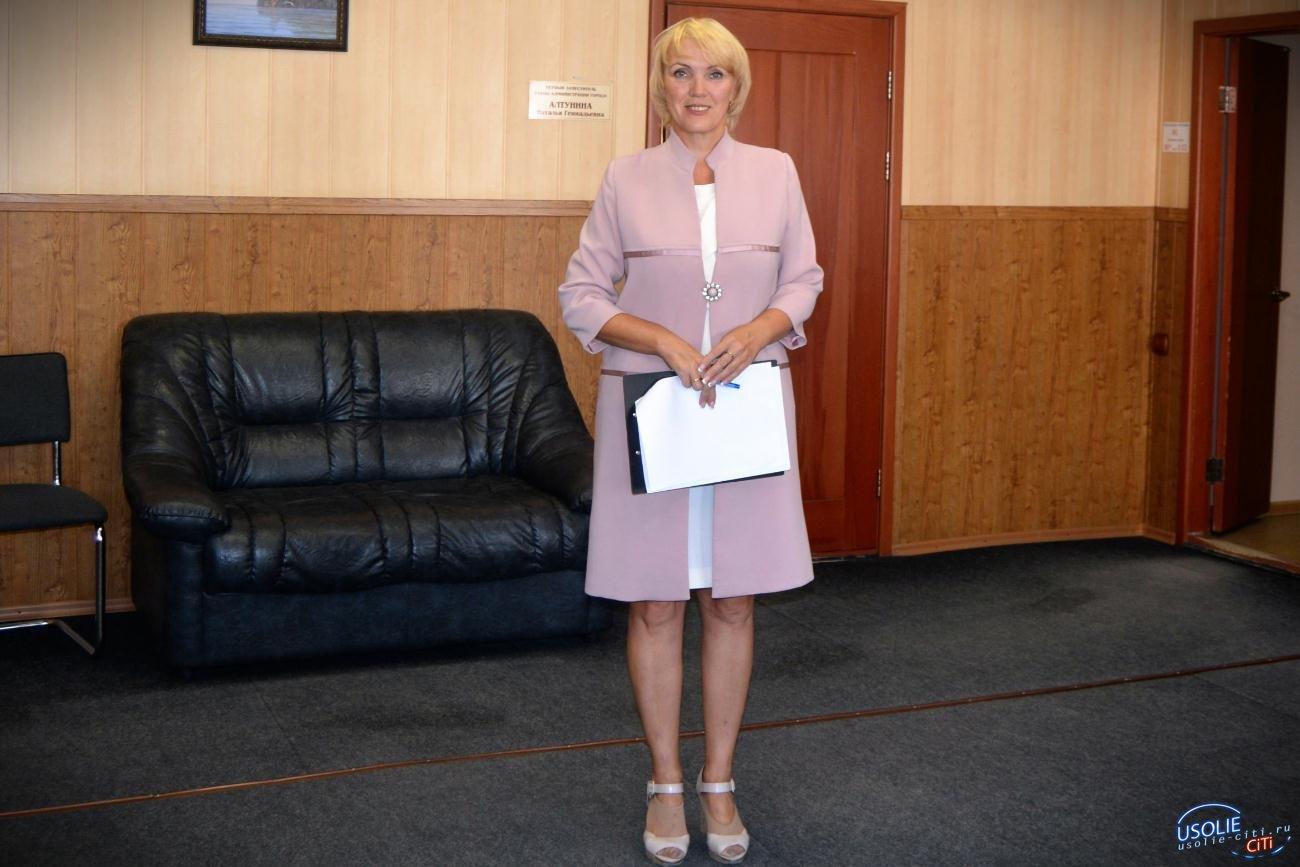 Социальные работники Усолья принимают поздравления