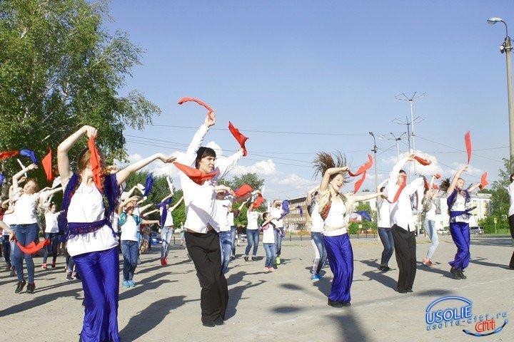 День России Усолье отметит автофлешмобом и большим концертом
