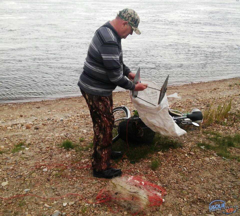 Их ловят, а они продолжают рыбачить...Трое усольчан попали в сети полицейских