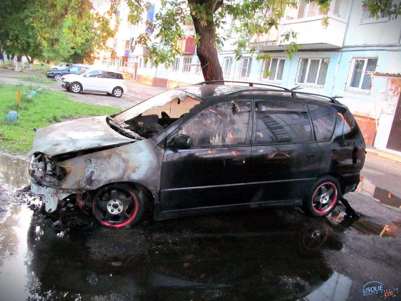 В Усолье задержан поджигатель автомобиля