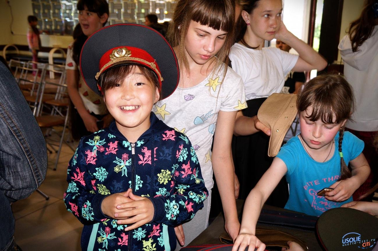 Передвижной музей побывал на территории усольского курорта