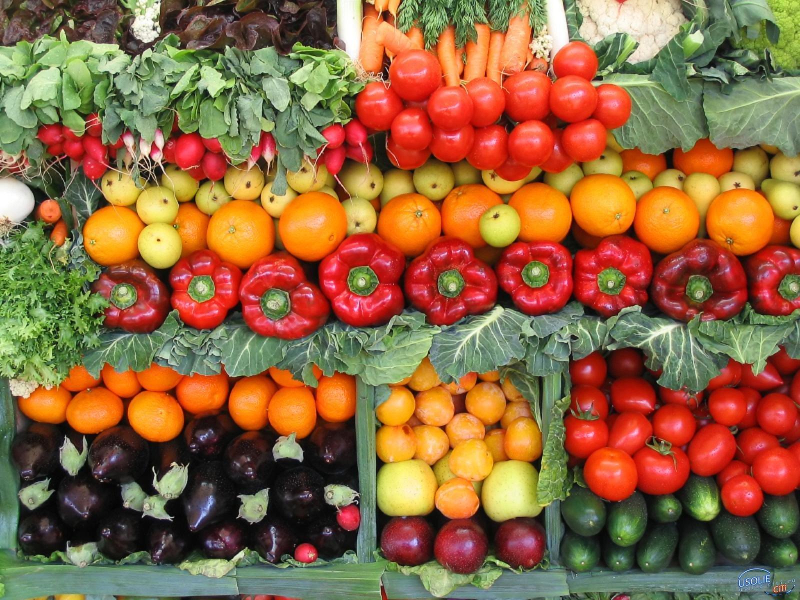 Усольчане могут пожаловаться на качество овощей и фруктов
