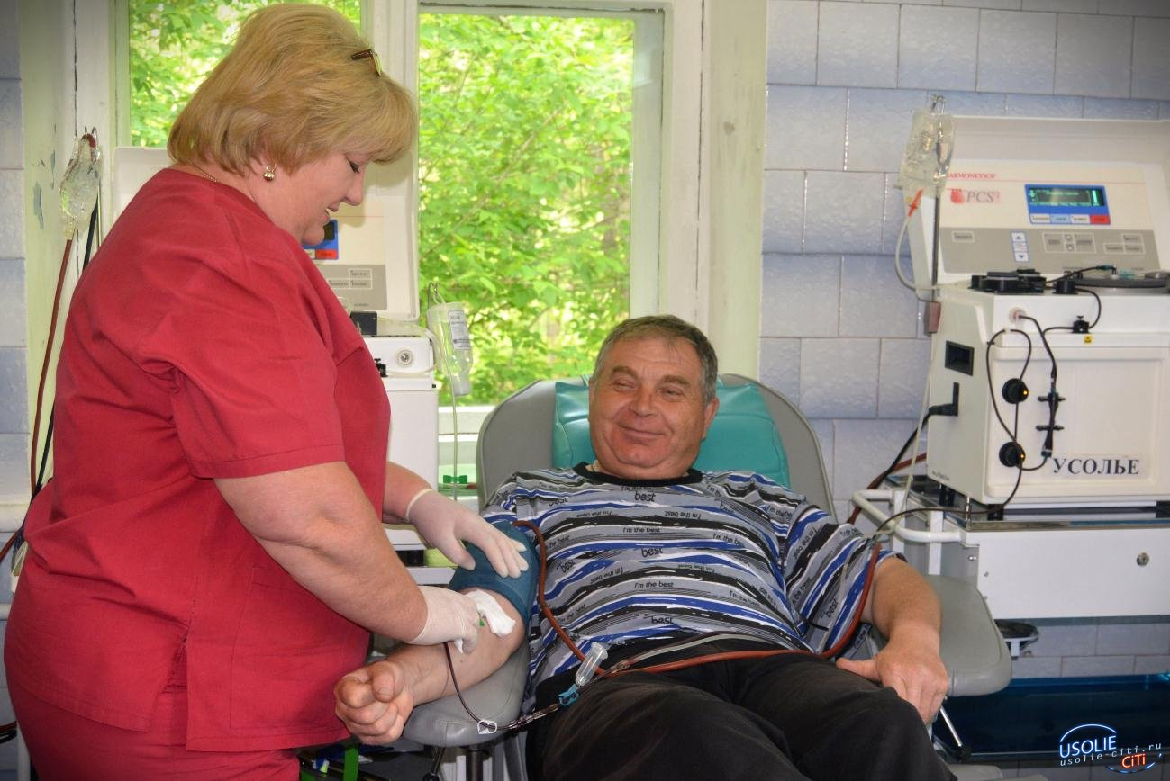 540 рублей: Спасая жизни. В Усолье отмечают День донора