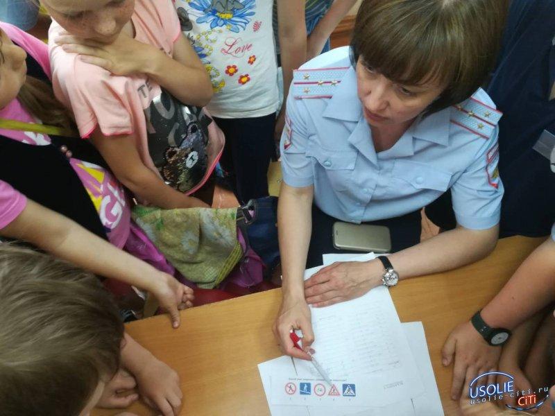 В гостях у детворы побывала комиссия по делам несовершеннолетних Усольского района