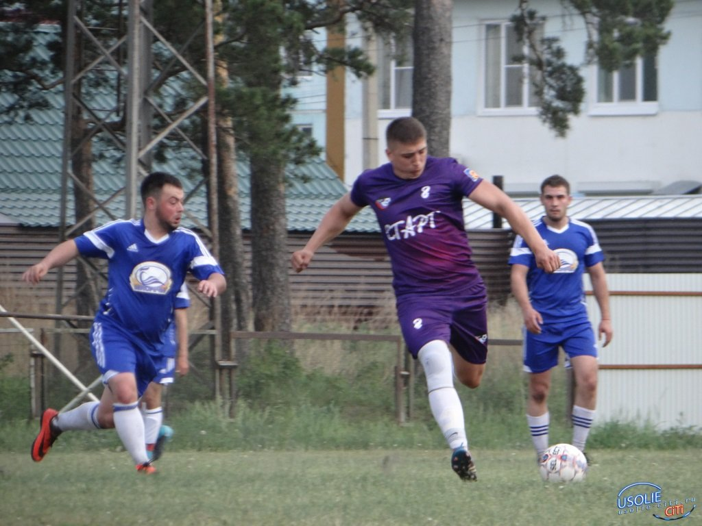 Футбол. Лидер прежний - первенство Усольского района