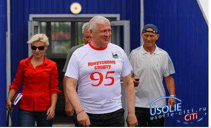 Сергей Брилка забил гол на стадионе в Усолье