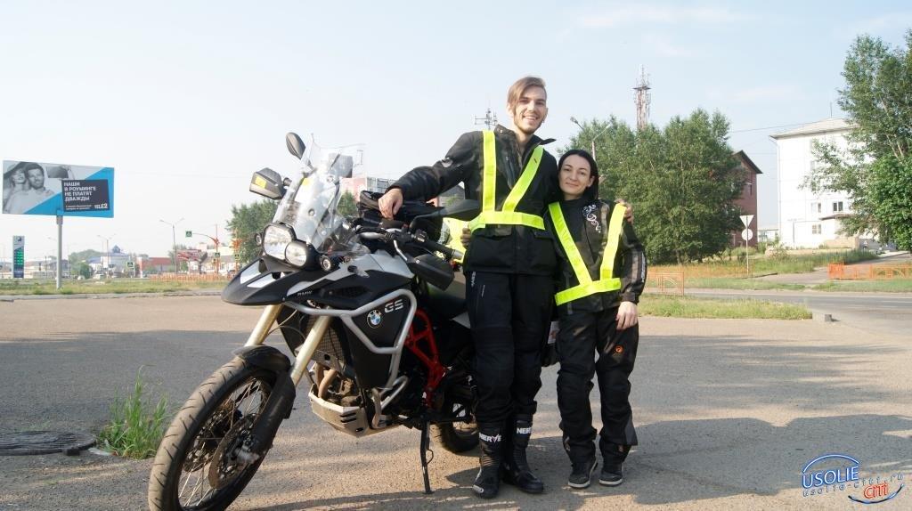 Наши земляки покоряют дороги Европы на мотоцикле. Проехали и по Усолью