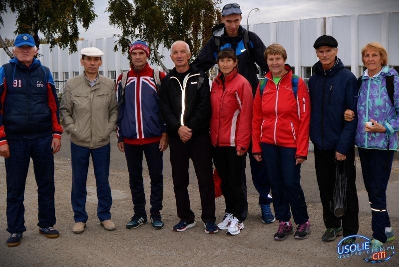Ветераны усольского спорта отличились на областном кроссе