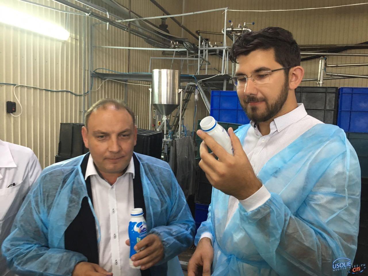 На усольском молокозаводе открыли новую технологическую линию