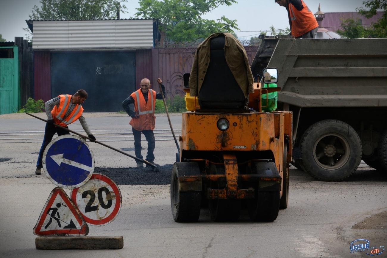 В Усолье начался ремонт автомобильных дорог общего пользования к садоводствам