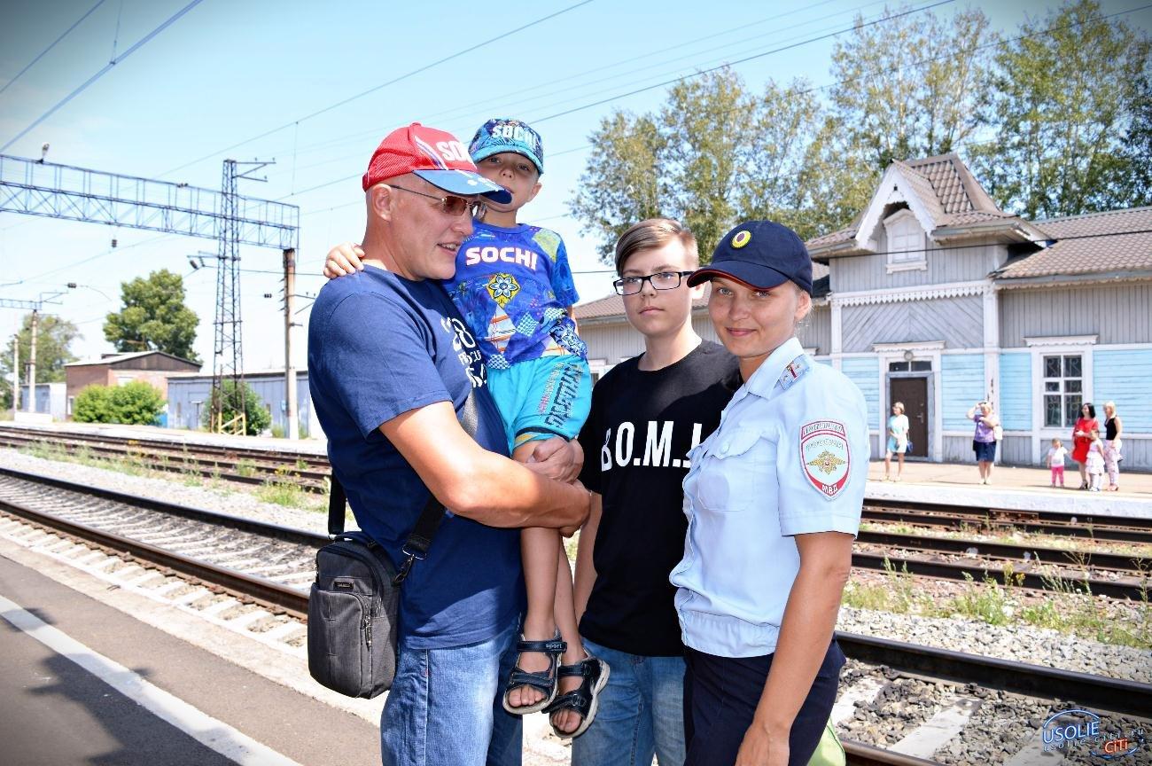 В Усолье вернулись полицейские, обеспечивавшие безопасность на ЧМ-2018 в городе Сочи