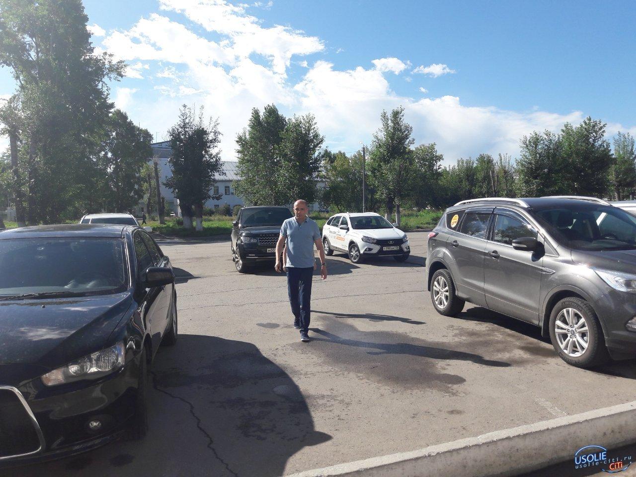 Сергей Сокол находится в рабочей поездке в Усолье