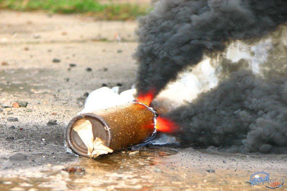 Дымовая шашка усольскому военному оторвала палец
