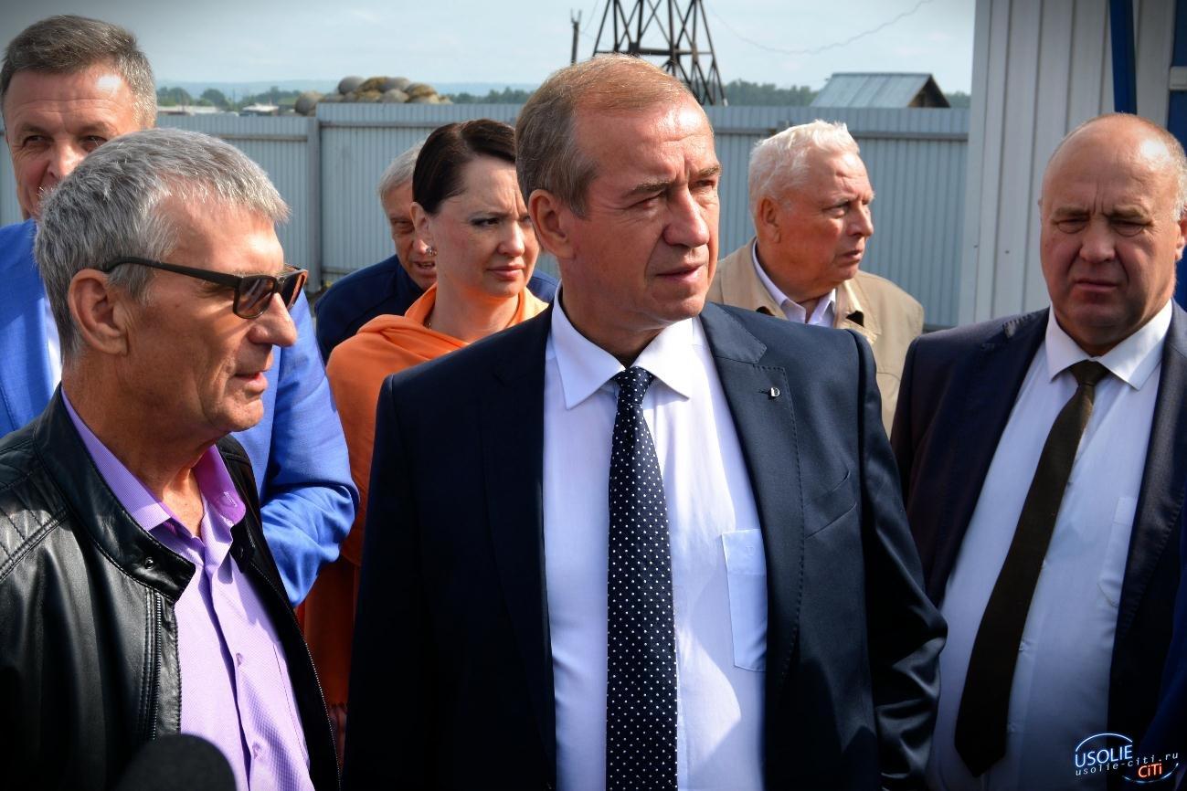 Губернаторская делегация побывала в передовых хозяйствах Усольского района