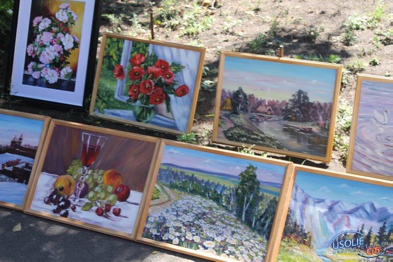 Усольские художники городу - 27-я, ежегодная выставка