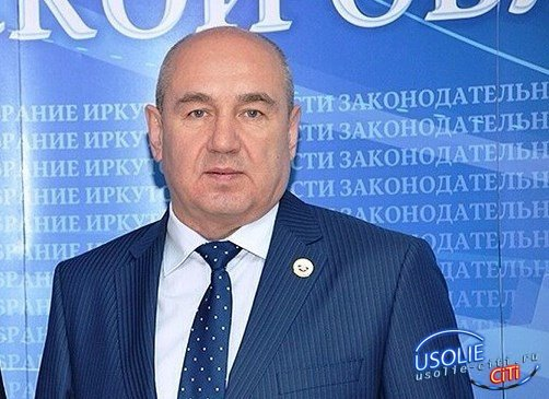Усольчанин Александр Бриль получил награду от Заксобрания области