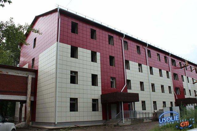 Ремонт  усольского родильного дома завершится в конце ноября