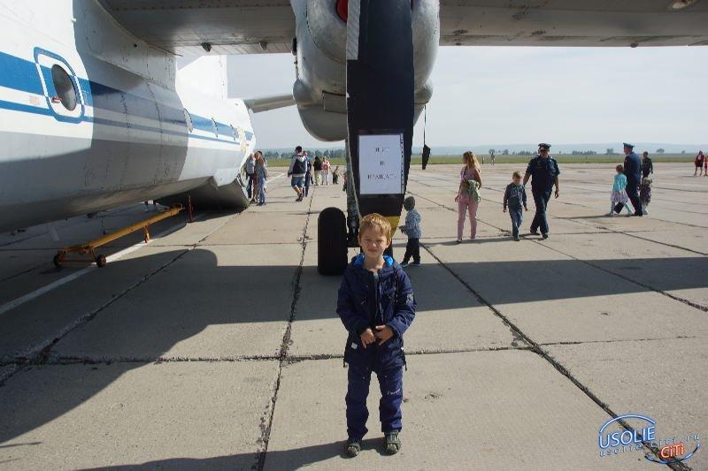 Фотоотчет.  День Военно-воздушного флота. Поселок Средний - 2018