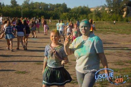 Фотоотчет. Фестиваль красок в Усолье - 2018