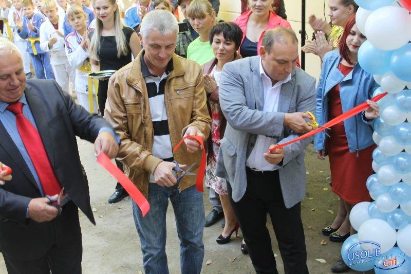 В Усолье состоялось торжественное открытие нового отделения дзюдо