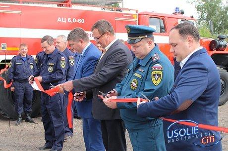 В поселке Тайтурка открылось новое здание пожарного депо