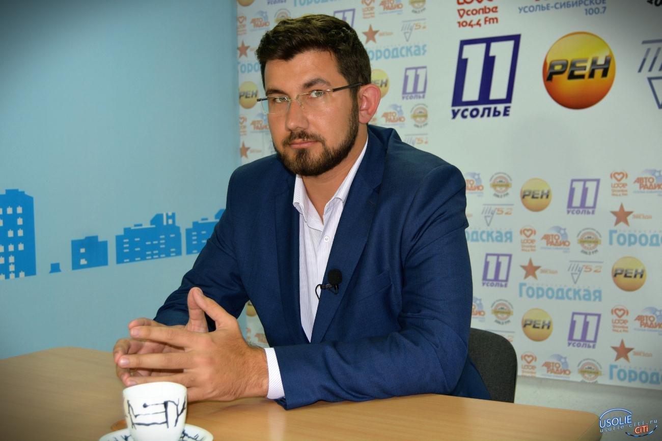 Усольчанин Степан Франтенко тоже стал депутатом Заксобрания области