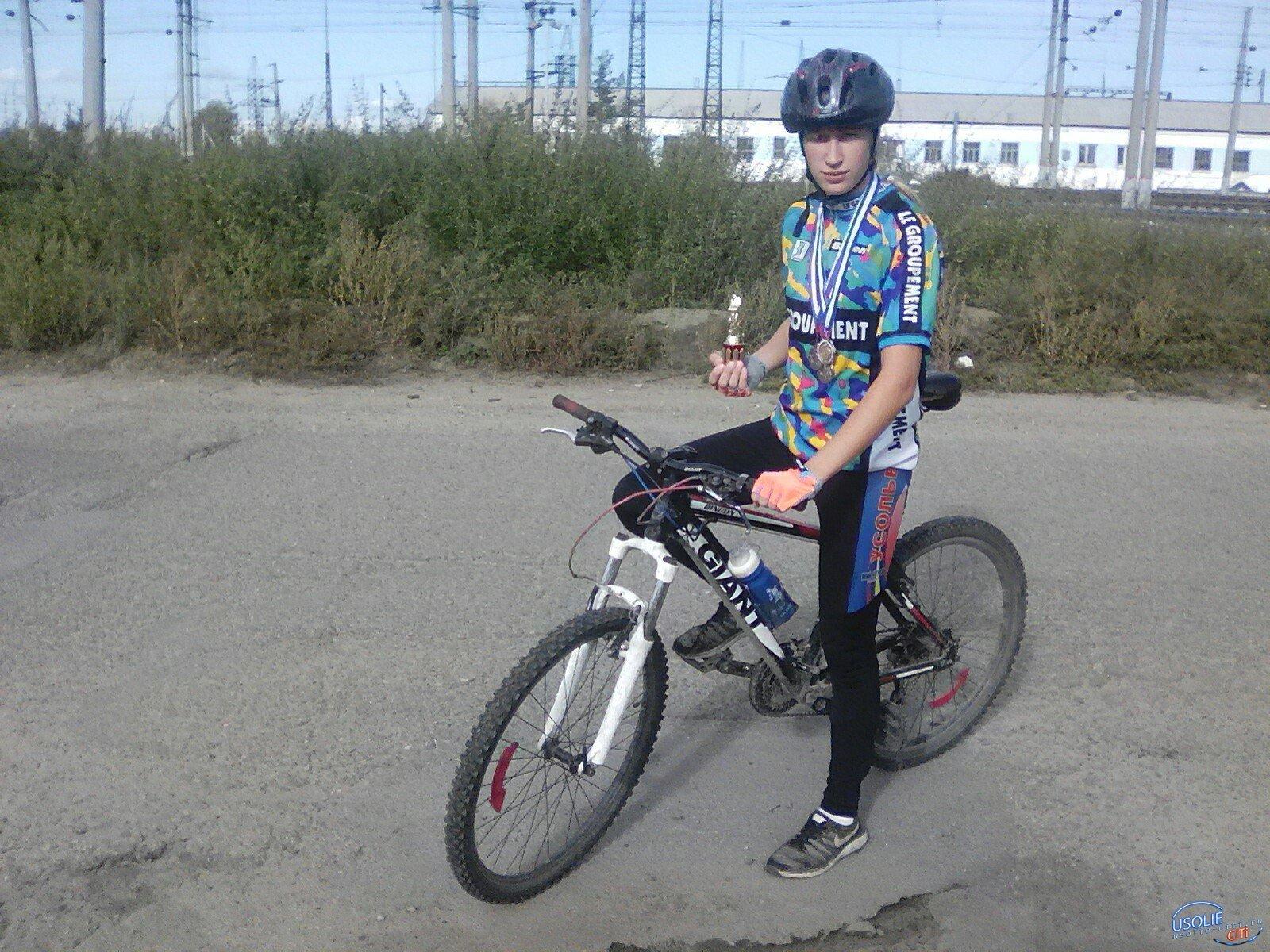 Жанна Шмакова из Белореченского завоевала медаль на велогонке