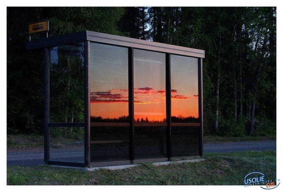 В Усолье установят четыре стеклянных остановочных пункта