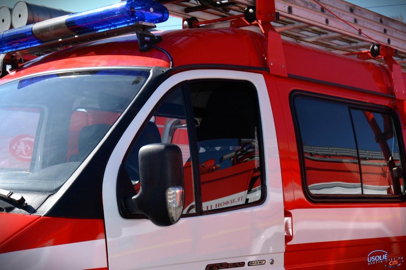 В Усольском районе уточняются обстоятельства пожара