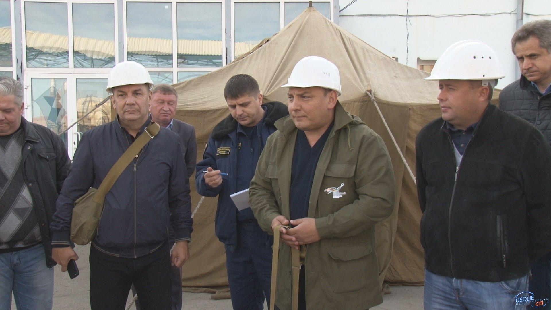 Внимание, тревога!  На усольской площадке Химпрома произошел подрыв двух железнодорожных цистерн