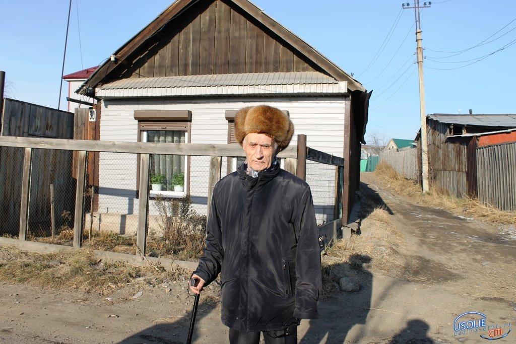 Усольскому ветерану войны Михаилу Аринкину - 92 года