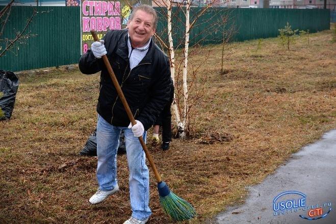 Перед тем, как проводить субботник и высаживать деревья, усольчане должны обратиться в мэрию