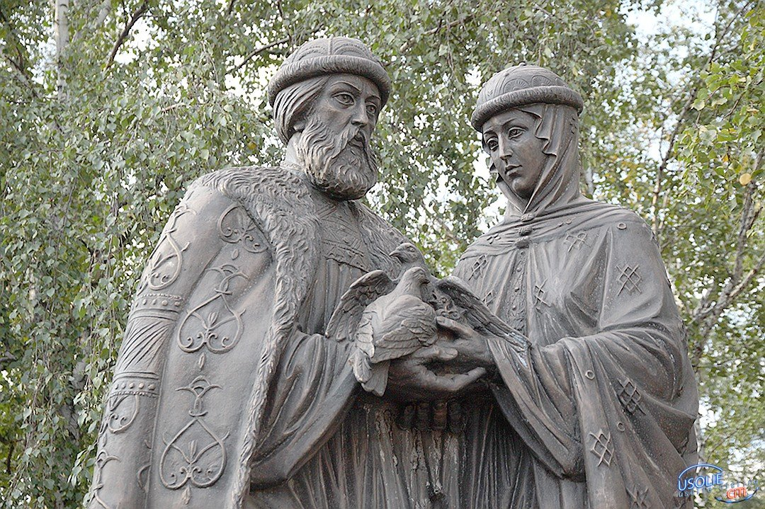 В Усолье установят памятник в честь Петра и Февронии