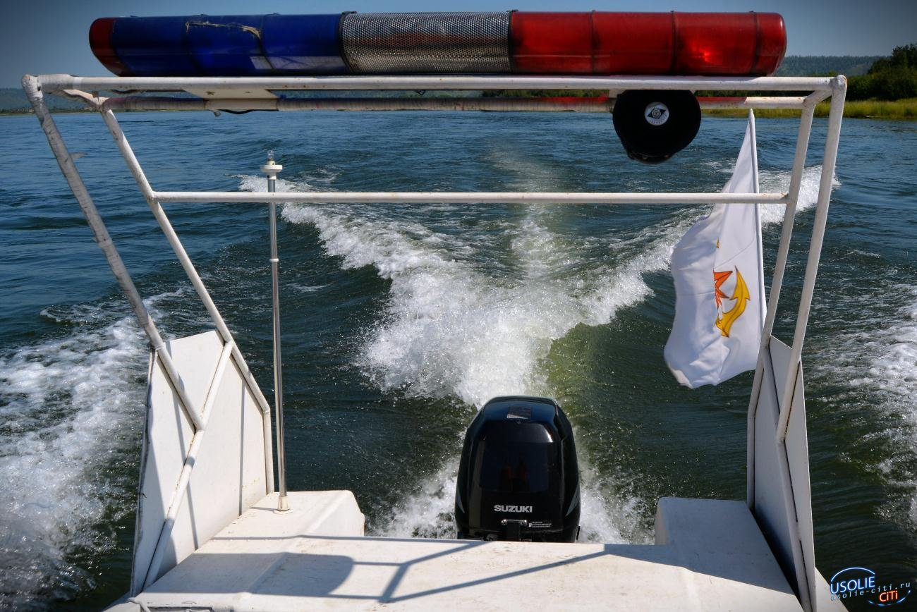 В Усолье рыбак выпал из лодки и утонул