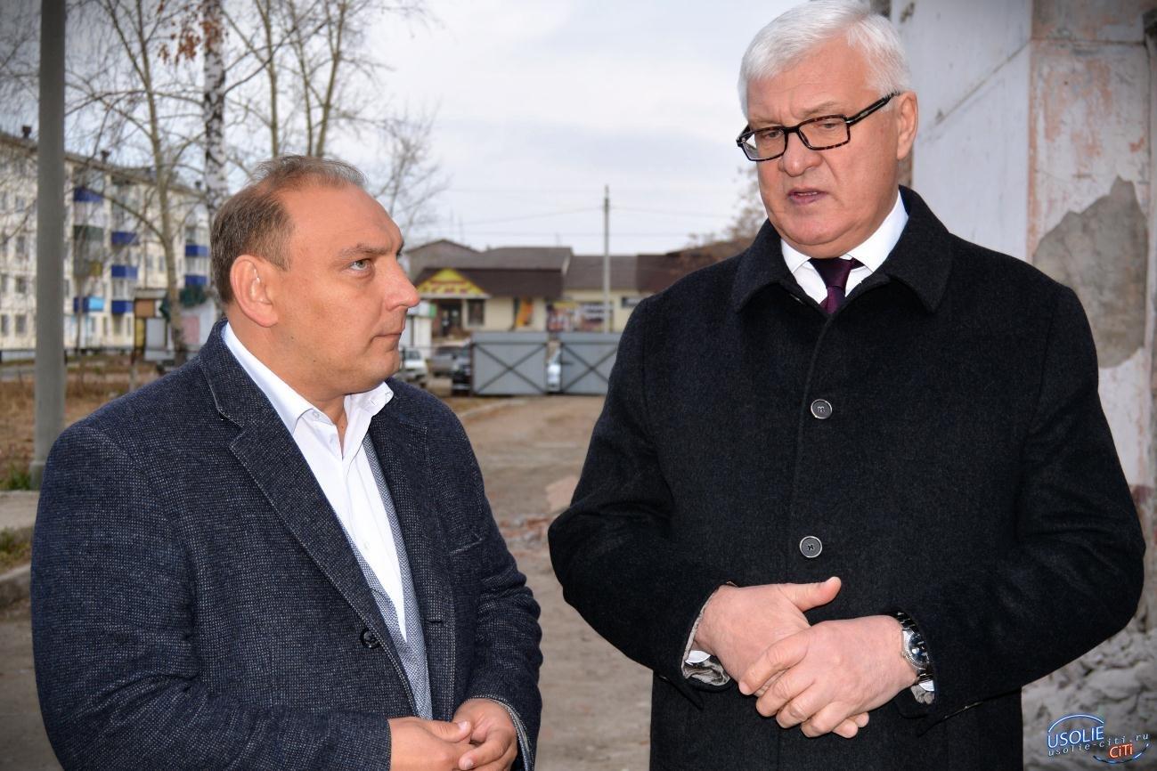 Сенатор Российской Федерации Сергей Брилка посетил Усолье