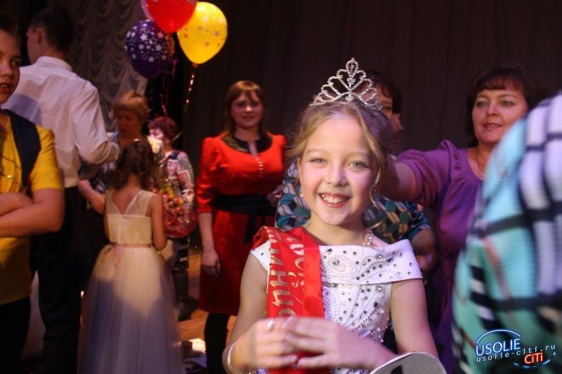 Усольские принцессы готовятся к конкурсу