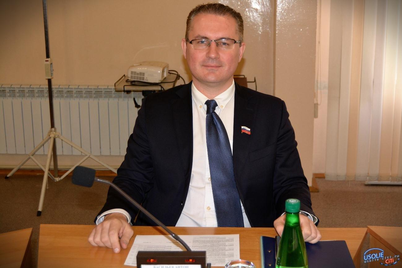 Депутат Антон Васильев слово сдержал. Самая большая усольская фракция понесла потери