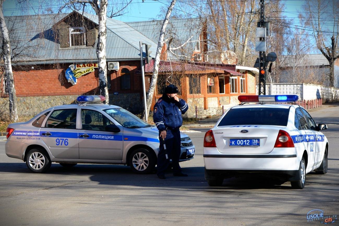 В Усолье десять машин отправили на штраф-площадку