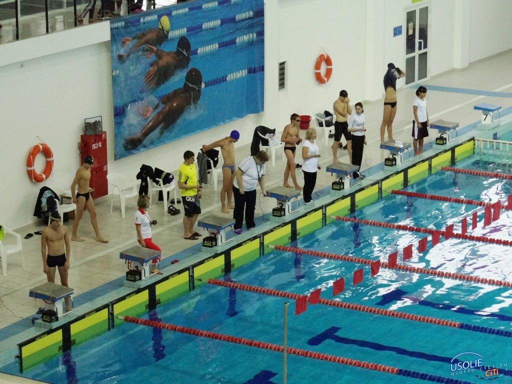 Усольские пловцы привезли медали в родной город