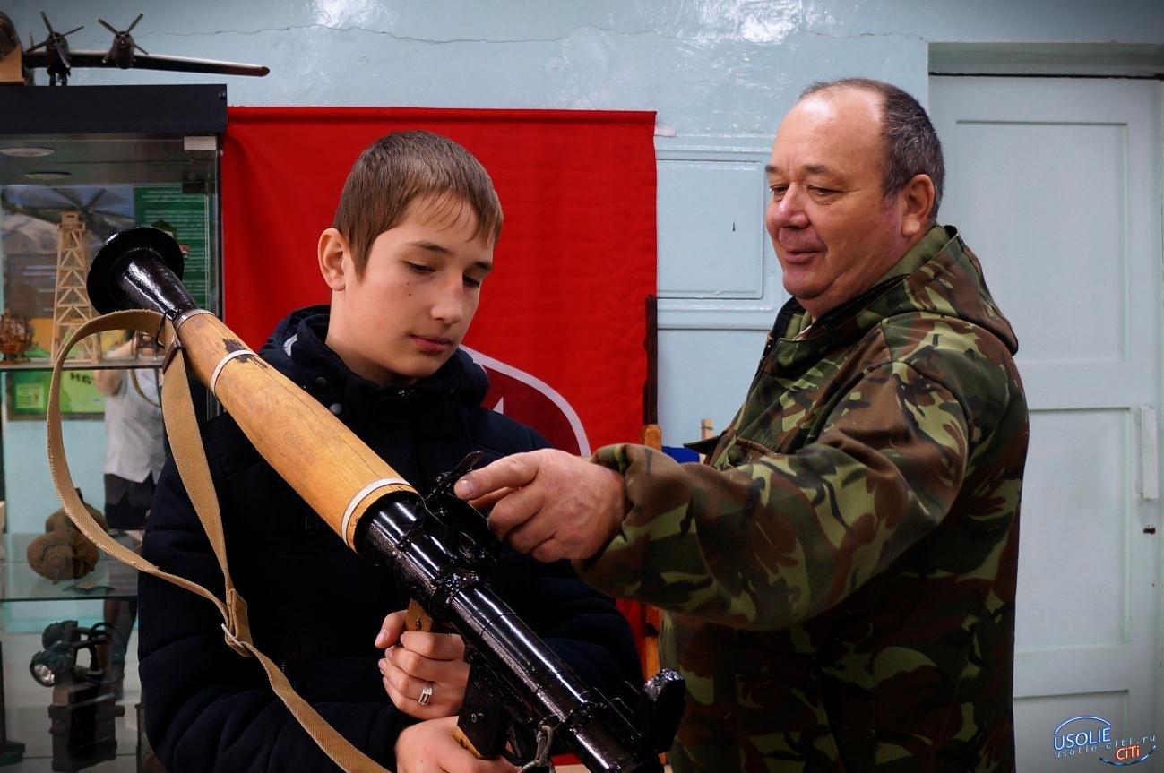 Усольские школьники прошли устные занятия по стрелковой подготовке