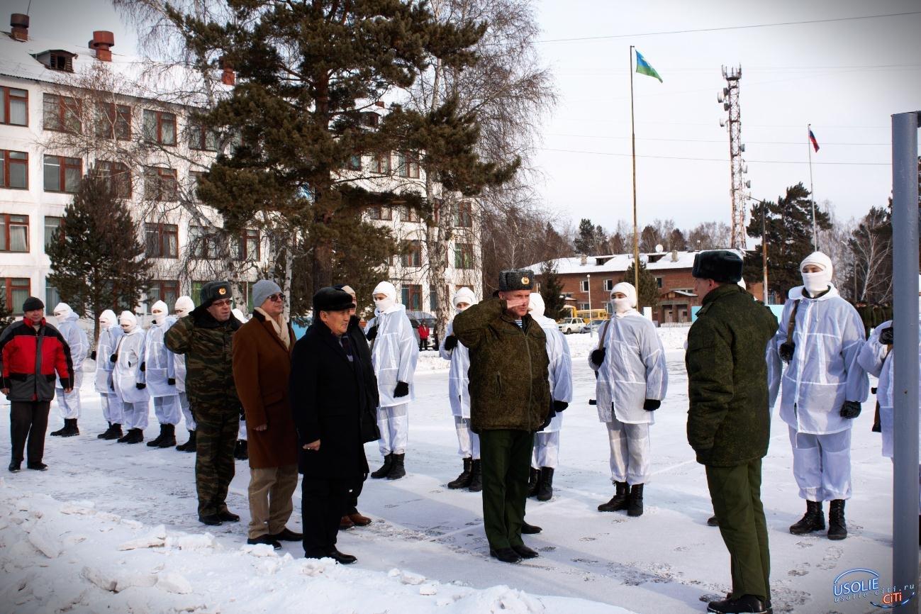 Усольский Гвардейский кадетский корпус посетил советник Президента Монголии
