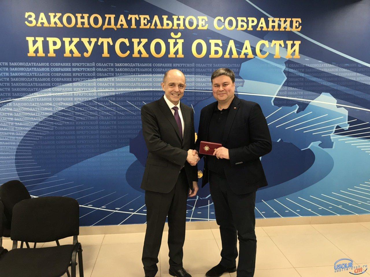 Усольский врач Вадим Кучаров получил большую награду