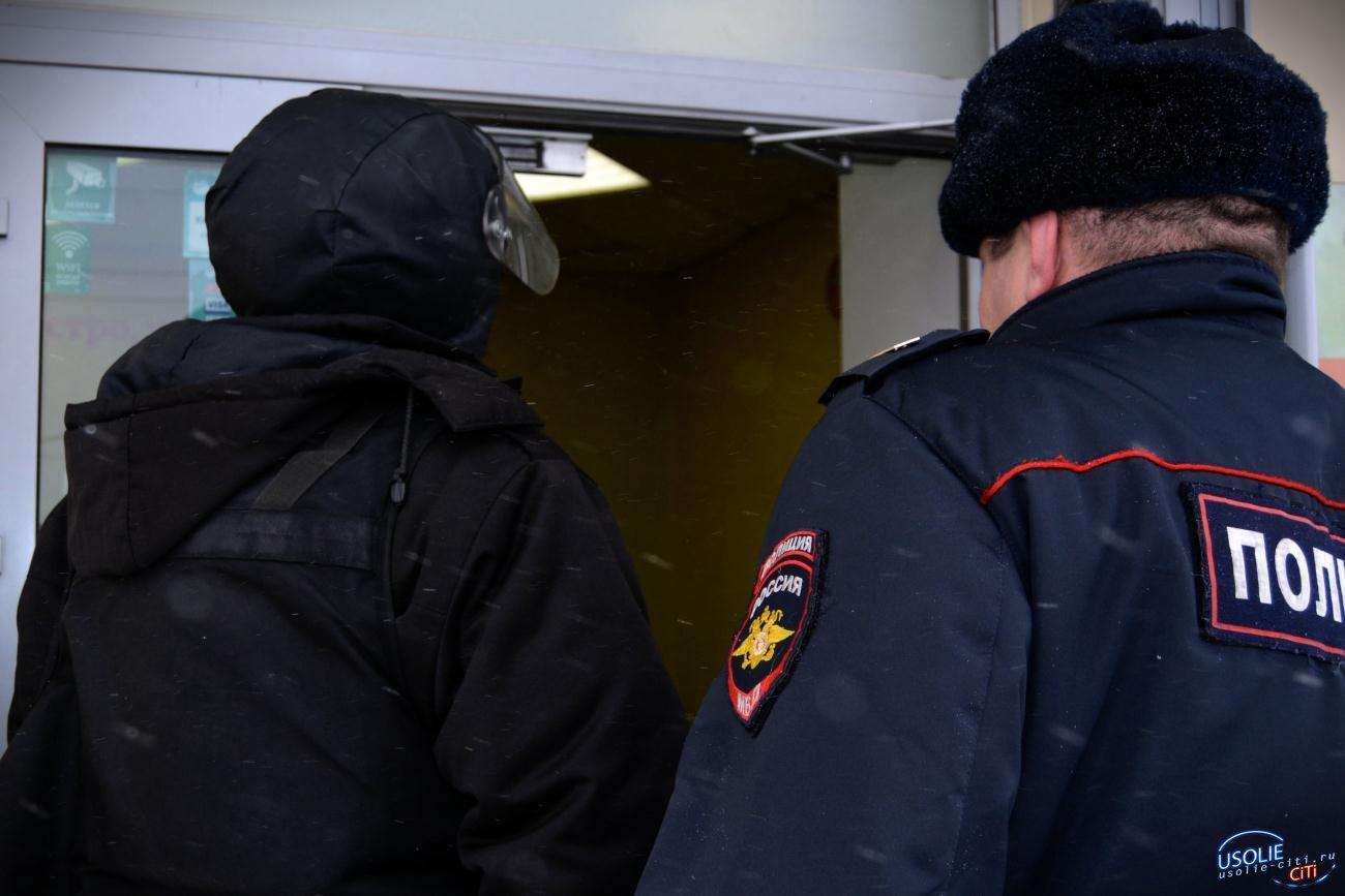 Сразу два магазина ограбили ночью в Усолье