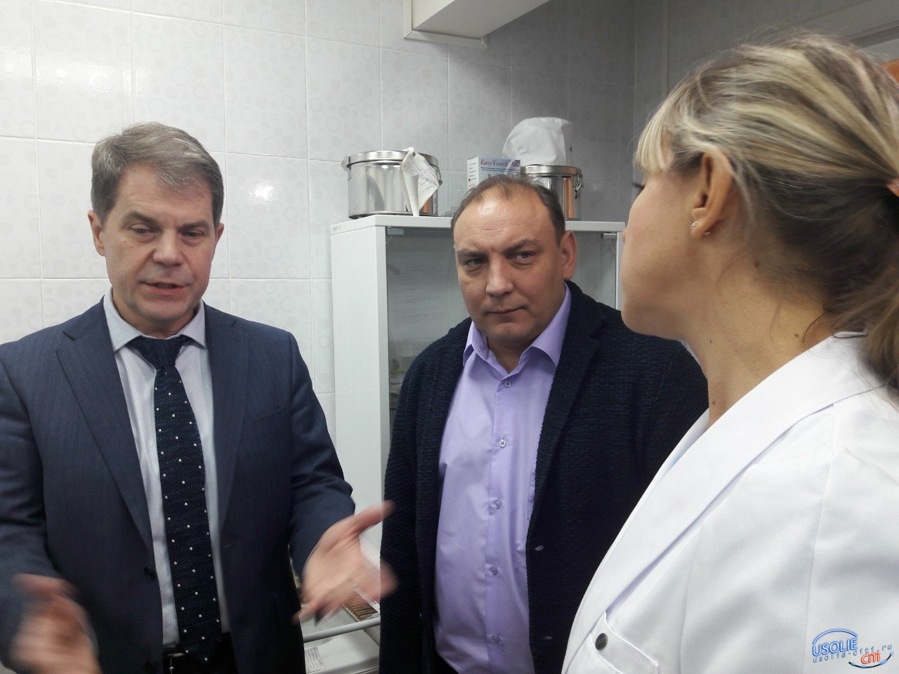 В Усолье с рабочим визитом находится министр Олег Ярошенко