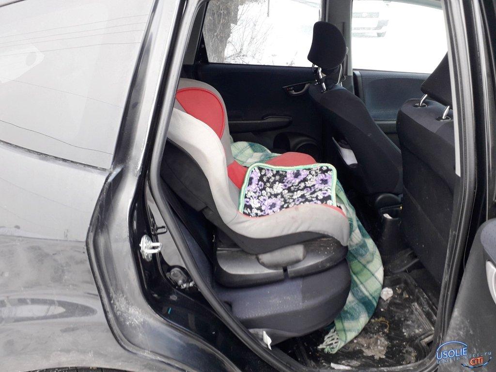 В Усолье в ДТП пострадал четырехлетний ребенок