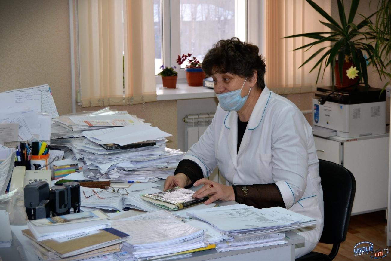В усольской детской поликлинике новая стойка регистрации
